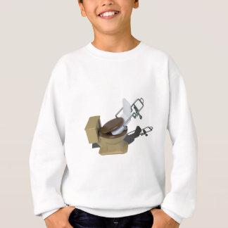 GurneyInToilet092715.png Sweatshirt
