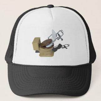 GurneyInToilet092715.png Trucker Hat