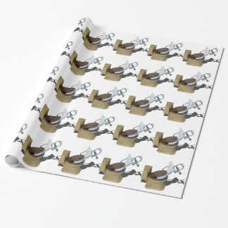 GurneyInToilet092715.png Wrapping Paper
