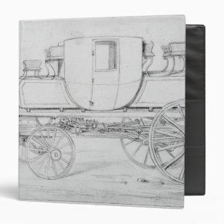 Gurney's Steam Carriage, 1827 3 Ring Binder