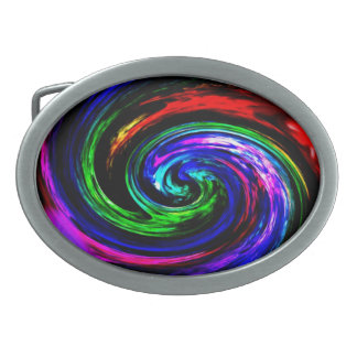 """Gürtelschnalle """"Quirl"""" multicolored abstractly Belt Buckle"""