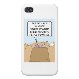 Guru: after enlightenment, it's all downhill. iPhone 4 covers