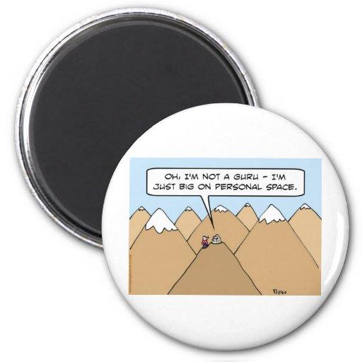 guru big on personal space magnets