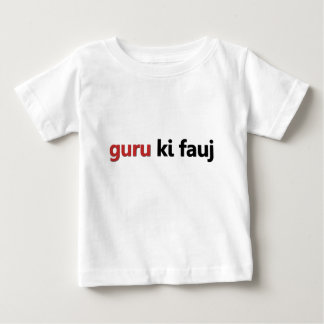 guru-ki-fauj-light baby T-Shirt