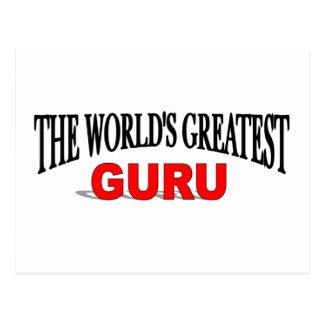 Guru más grande del mundo postal