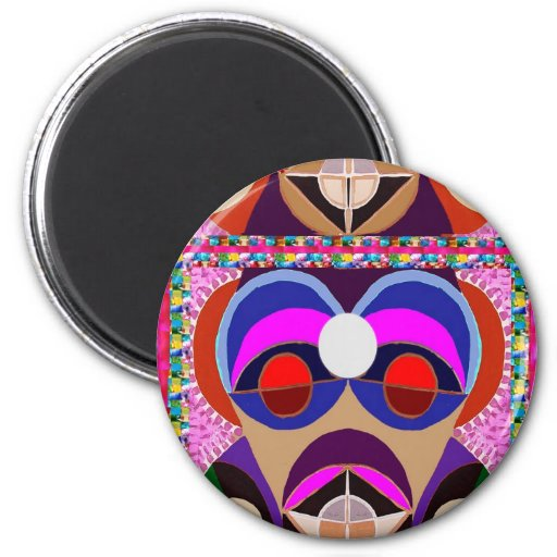 GURU or Great Masters  - 3rd EYE Open Refrigerator Magnets