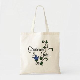 Guru que cultiva un huerto bolsa de mano