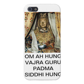Guru Rinpoche Photo + Mantra iPhone 5 Case