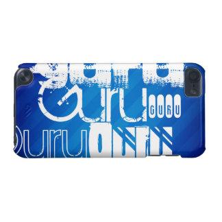Guru; Royal Blue Stripes iPod Touch (5th Generation) Cover