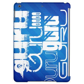 Guru; Royal Blue Stripes Cover For iPad Air