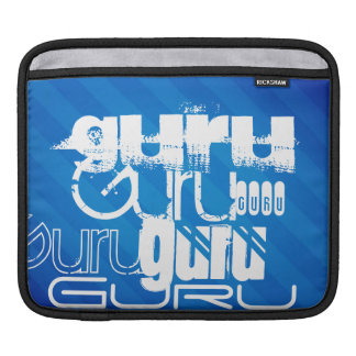 Guru; Royal Blue Stripes iPad Sleeve