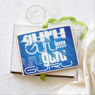 Guru; Royal Blue Stripes Jumbo Cookie