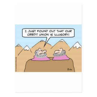 gurus credit union illusory postcard