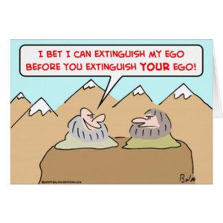 gurus extinguish ego cards