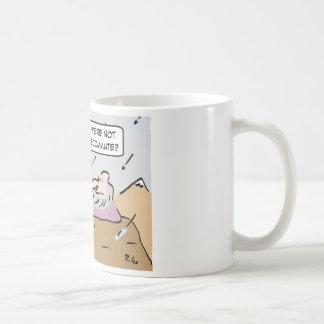 Gurus in bad weather. coffee mug