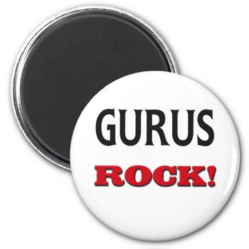 Gurus Rock Magnets