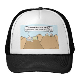 gurus thinking the unthinkable trucker hat