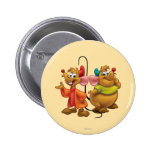 Gus and Jaq 2 Inch Round Button