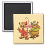 Gus and Jaq 2 Inch Square Magnet