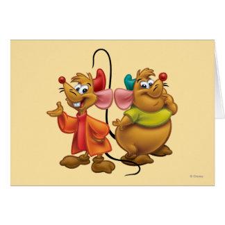 Gus and Jaq Greeting Card