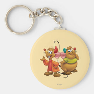 Gus and Jaq Key Chain
