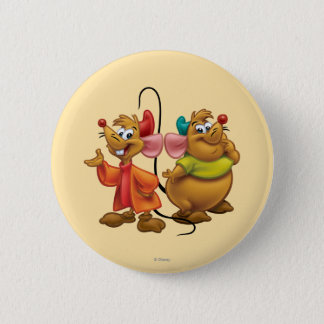Gus and Jaq Pinback Button