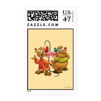 Gus and Jaq Postage Stamp