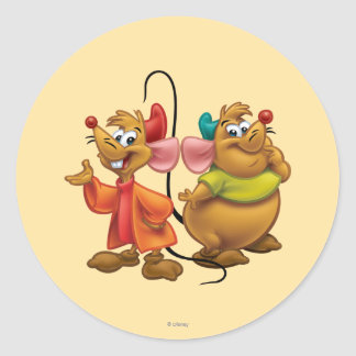 Gus and Jaq Classic Round Sticker