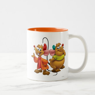 Gus and Jaq Two-Tone Coffee Mug