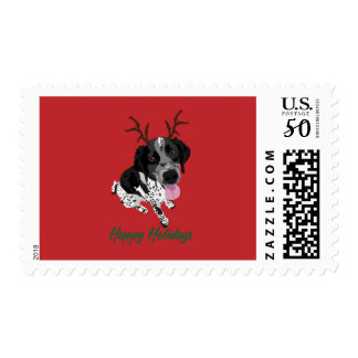 Gus Holiday Postage Stamp