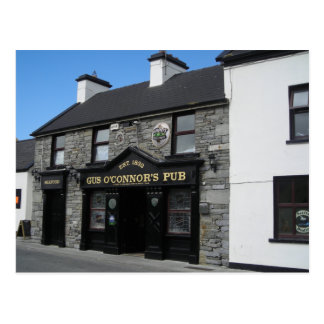 Gus O'Connor's Pub in Doolin Ireland Postcard