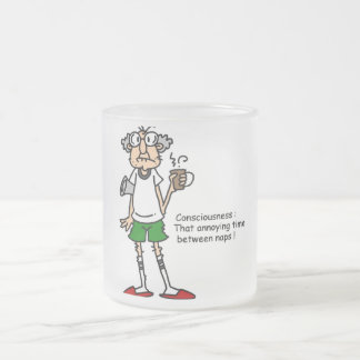 Gus on Naptime T-shirts and Gifts 10 Oz Frosted Glass Coffee Mug
