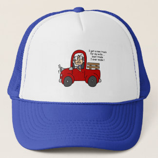 Gus on New Truck Tshirts and Gifts Trucker Hat
