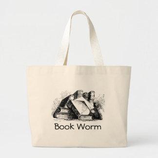 Gusano de libro bolsa