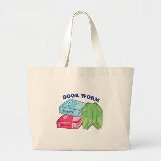 Gusano de libro bolsa de mano