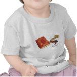 Gusano de libro camiseta