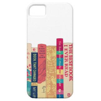 Gusano de libro iPhone 5 carcasas