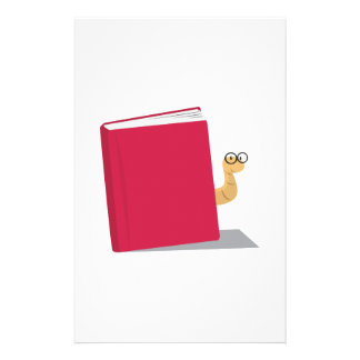 Gusano de libro papelería