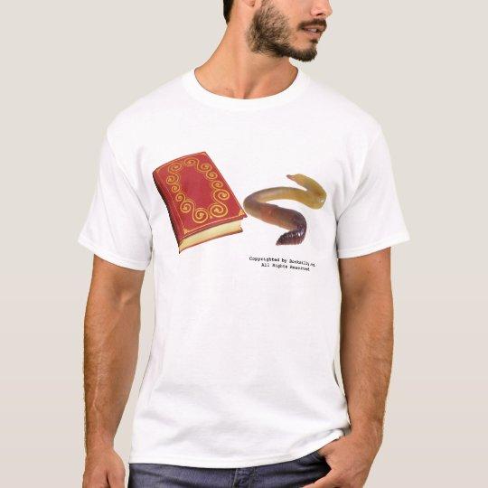 Gusano de libro playera