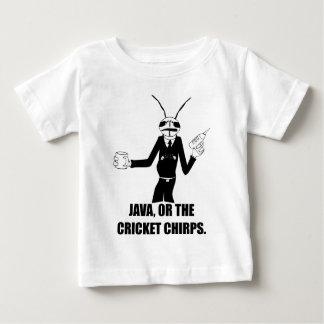 Gusano de los chirridos del grillo del MIB Java T-shirts