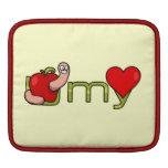 Gusano de U mi corazón Funda Para iPads