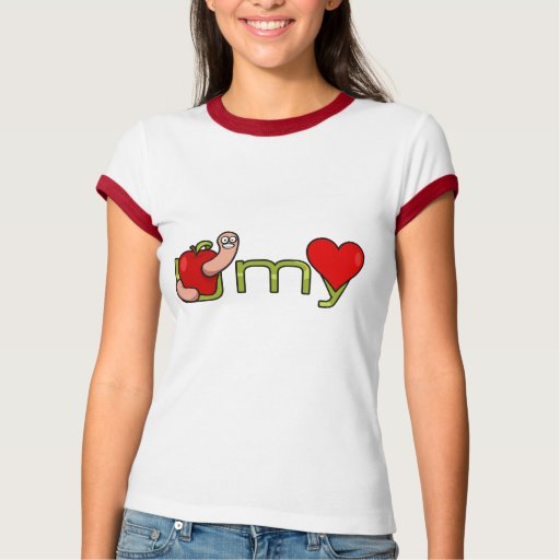 Gusano de U mi corazón T Shirt