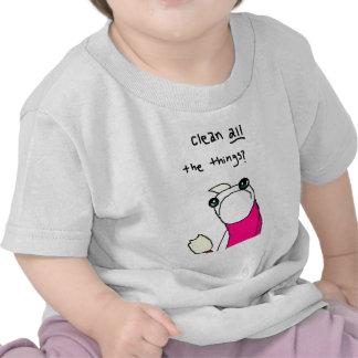 Gusano graciosamente de los tebeos camisetas