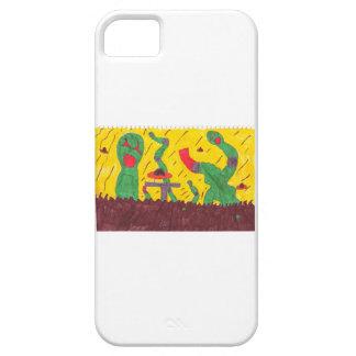 Gusanos de la máquina iPhone 5 funda