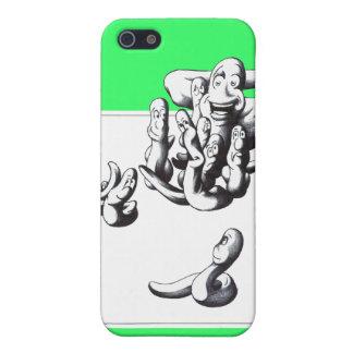 Gusanos iPhone 5 Protectores
