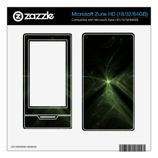 Gush of Life Decals For The Zune HD