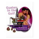 Gusher en el golfo #2 postales