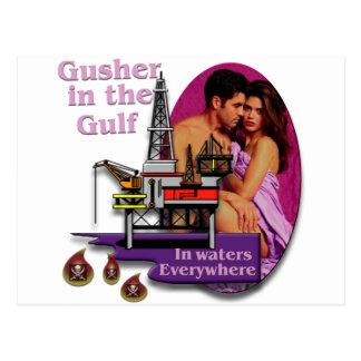 Gusher in the Gulf #2 Postcard