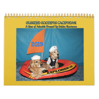 Gussied Goldens 2019 Calendar - Style 2