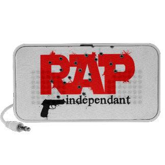 gust independent rap portable speaker